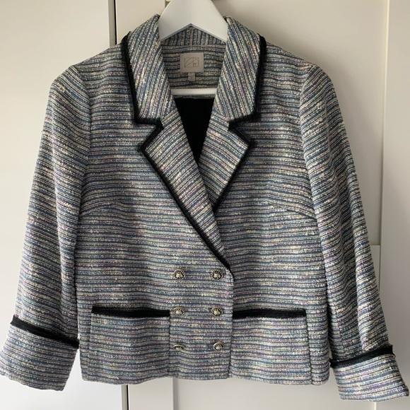 Vintage Urban Outfitters Tweed 3/4 Sleeve Blazer